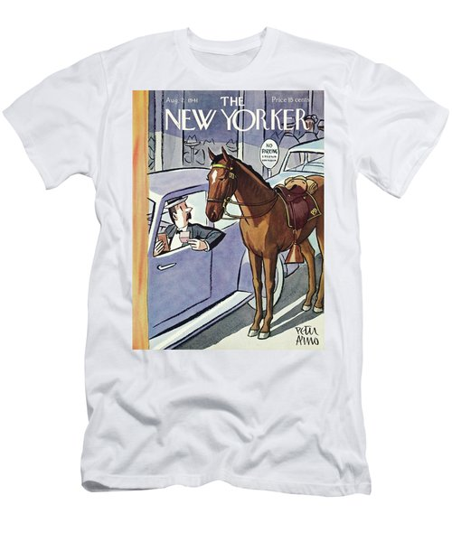New Yorker August 2 1941 Men's T-Shirt (Athletic Fit)