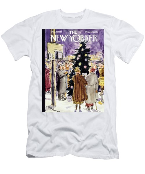 New Yorker December 20 1952 Men's T-Shirt (Athletic Fit)