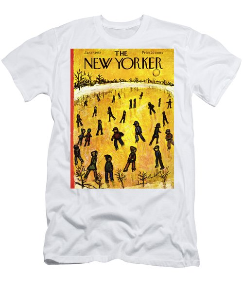 New Yorker January 17 1953 Men's T-Shirt (Athletic Fit)