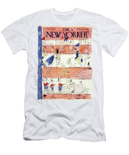 New Yorker July 2 1949 Men's T-Shirt (Athletic Fit)