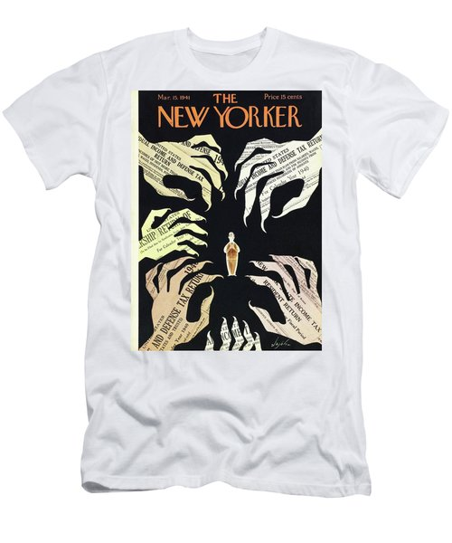 New Yorker March 15 1941 Men's T-Shirt (Athletic Fit)