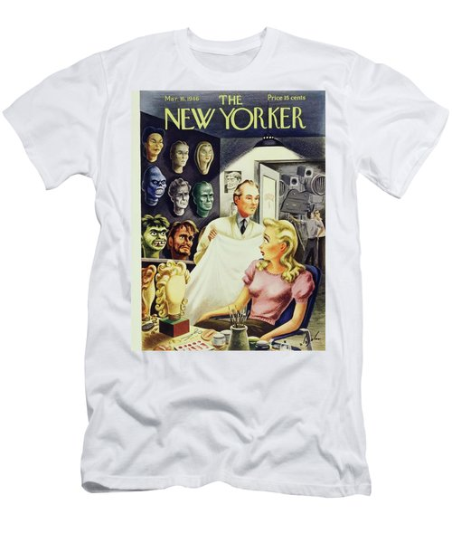 New Yorker March 16 1946 Men's T-Shirt (Athletic Fit)