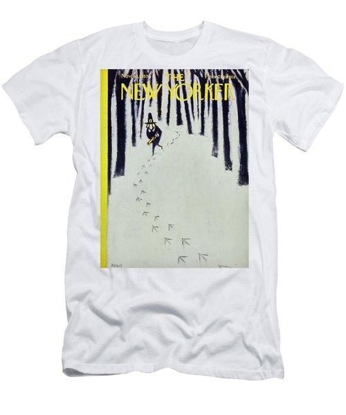 New Yorker November 30 1957 Men's T-Shirt (Athletic Fit)