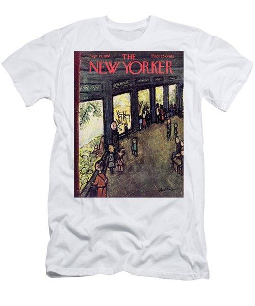 New Yorker September 27 1958 Men's T-Shirt (Athletic Fit)