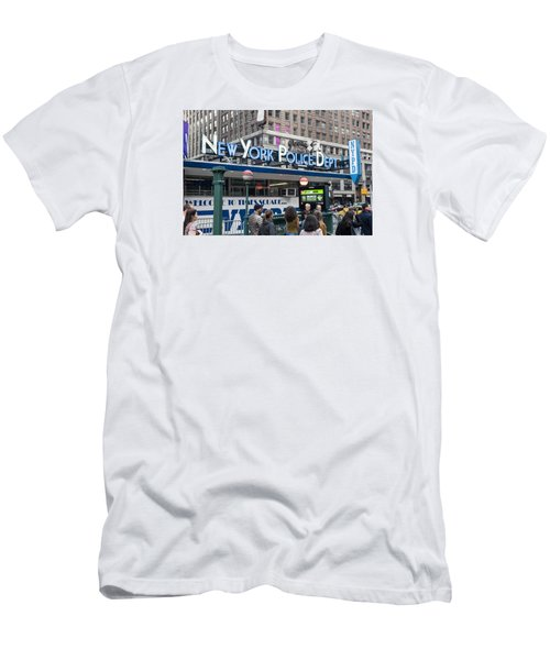 New York's Finest Men's T-Shirt (Slim Fit) by Allen Carroll