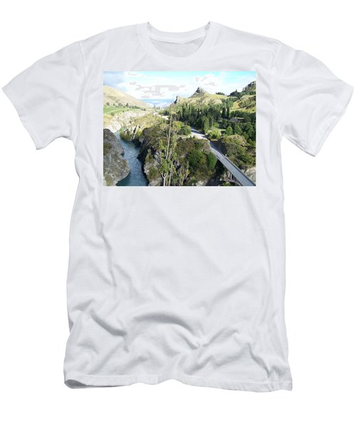 New Zealand Scene Men's T-Shirt (Athletic Fit)