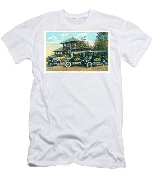 Newburgh Downing Park - 22 Men's T-Shirt (Athletic Fit)