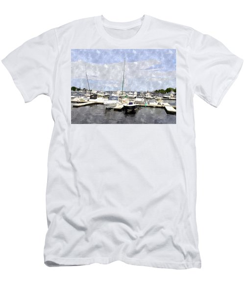 Newburyport Harbor Nhwc Men's T-Shirt (Athletic Fit)