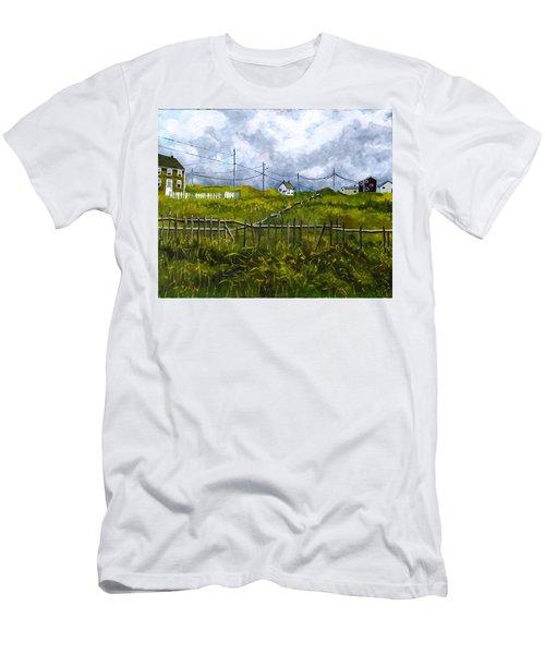 Newfoundland Jig Men's T-Shirt (Slim Fit) by Diane Arlitt