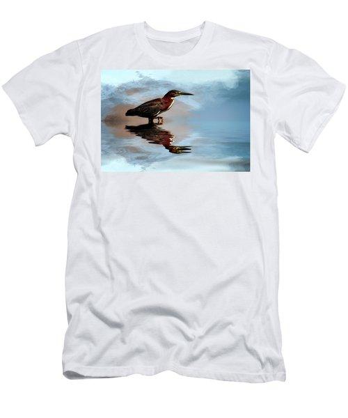 Next Step Men's T-Shirt (Slim Fit) by Cyndy Doty