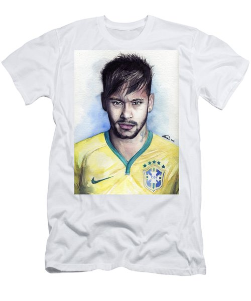 Neymar Men's T-Shirt (Athletic Fit)
