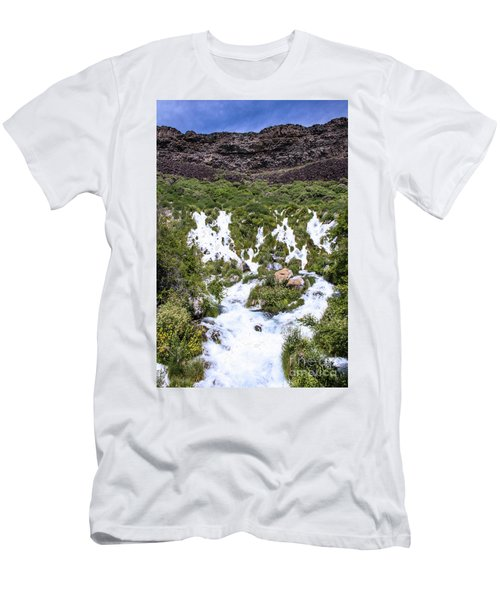 Niagra Springs Idaho Journey Landscape Photography By Kaylyn Franks  Men's T-Shirt (Athletic Fit)