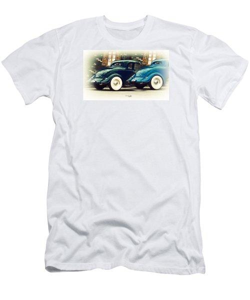 Nice Wheels Men's T-Shirt (Slim Fit) by Chris Armytage
