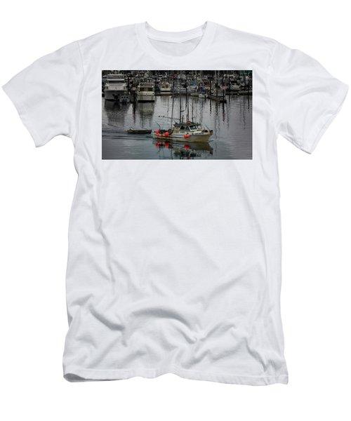 Night Drifter Men's T-Shirt (Slim Fit) by Randy Hall
