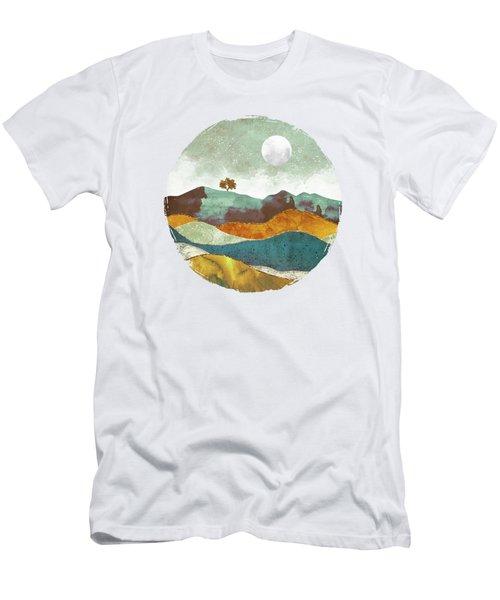 Night Fog Men's T-Shirt (Slim Fit) by Spacefrog Designs
