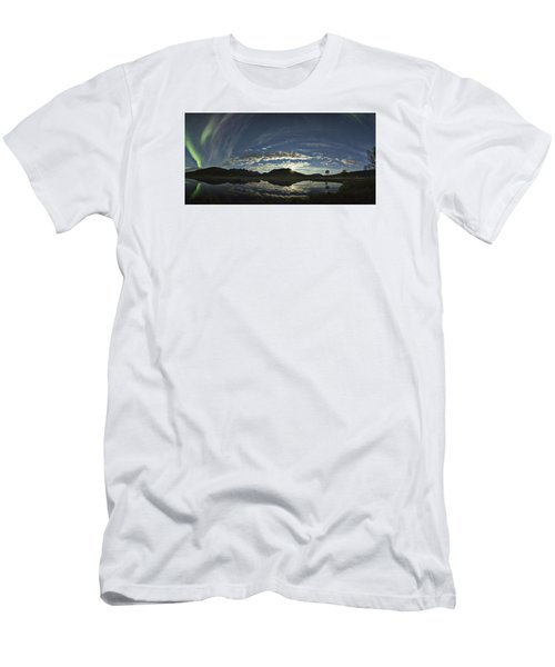 Night Sky Panorama Men's T-Shirt (Athletic Fit)