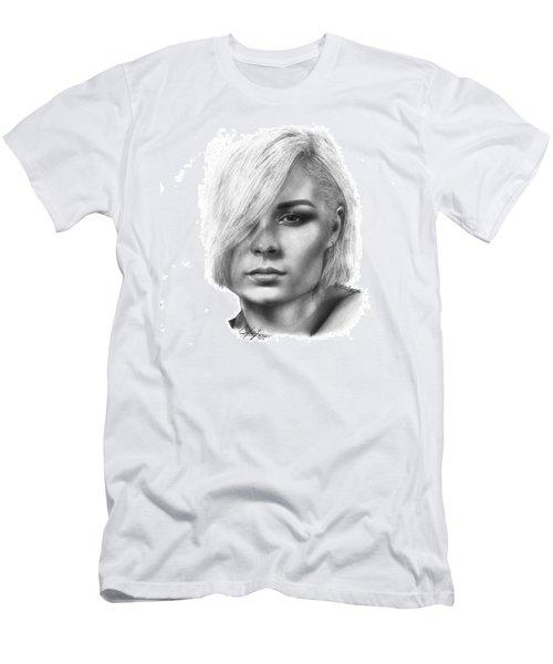 Nina Nesbitt Drawing By Sofia Furniel Men's T-Shirt (Athletic Fit)