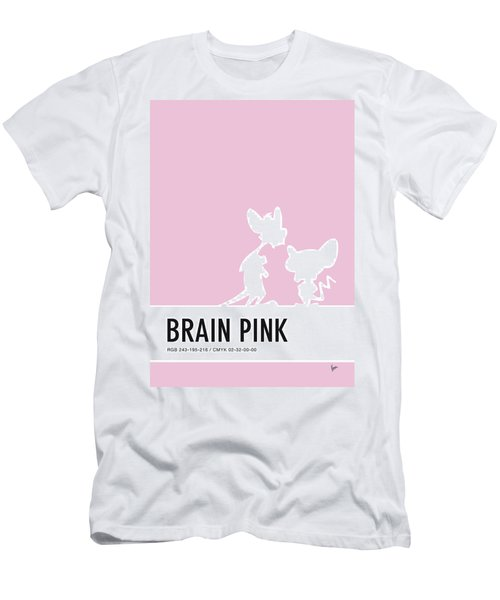 No01 My Minimal Color Code Poster Pinky And The Brain Men's T-Shirt (Athletic Fit)