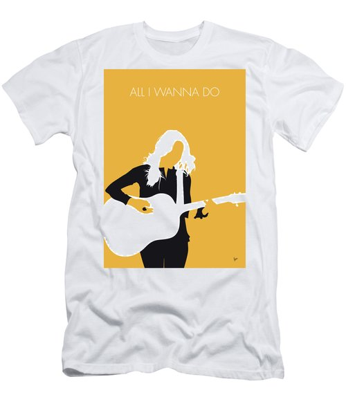 No074 My Sheryl Crow Minimal Music Poster Men's T-Shirt (Athletic Fit)