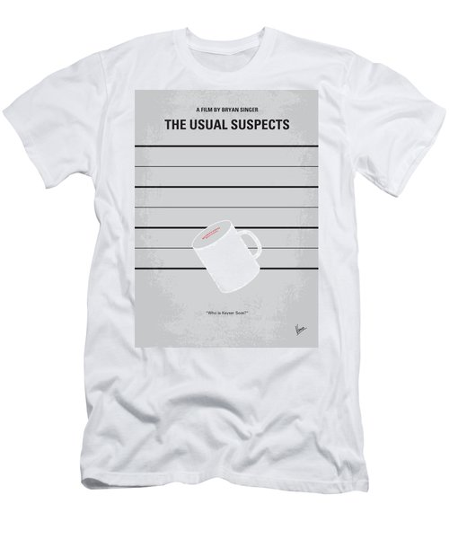 No095 My The Usual Suspects Minimal Movie Poster Men's T-Shirt (Athletic Fit)