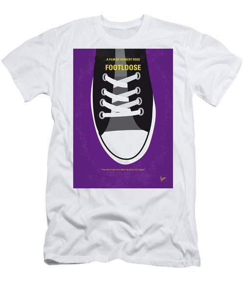 No610 My Footloose Minimal Movie Poster Men's T-Shirt (Athletic Fit)