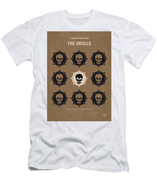 No662 My The Skulls Minimal Movie Poster Men's T-Shirt (Athletic Fit)
