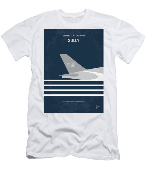 Men's T-Shirt (Slim Fit) featuring the digital art No754 My Sully Minimal Movie Poster by Chungkong Art