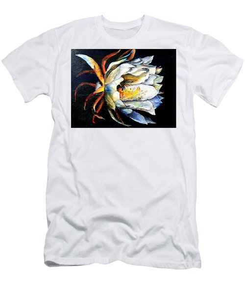 Nocturnal Desert Blossom Men's T-Shirt (Athletic Fit)