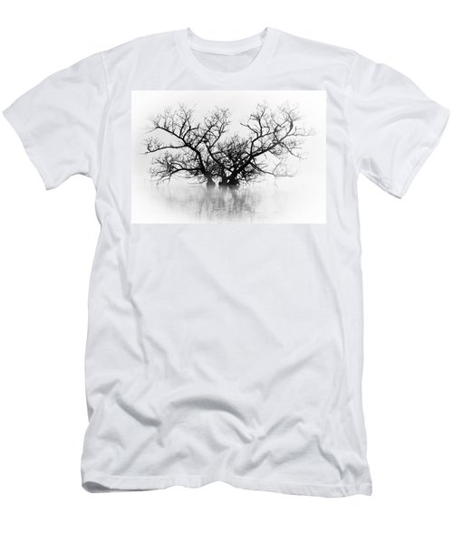 Norris Lake April 2015 5 Men's T-Shirt (Slim Fit) by Douglas Stucky