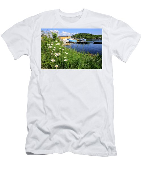 Northwest Harbour, Nova Scotia Men's T-Shirt (Athletic Fit)