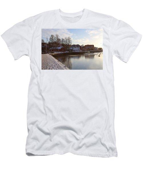 Norwegian Fjords. Men's T-Shirt (Athletic Fit)