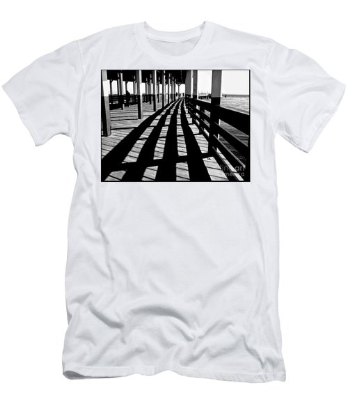 Nostalgic Walk On The Pier Men's T-Shirt (Athletic Fit)