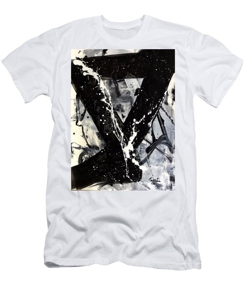 Not Just Black And White Men's T-Shirt (Athletic Fit)