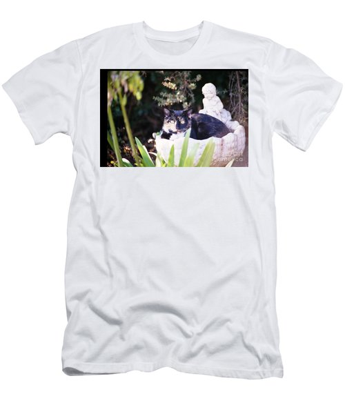 Men's T-Shirt (Athletic Fit) featuring the photograph Not Just For The Birds by Cynthia Marcopulos