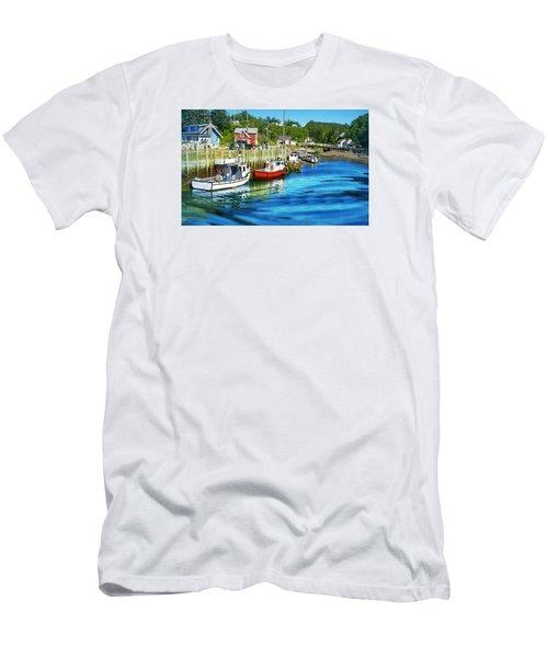 Nova Scotia Men's T-Shirt (Slim Fit) by Robin Regan