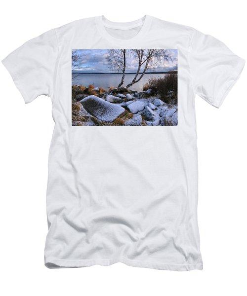 November Day Men's T-Shirt (Slim Fit) by Vladimir Kholostykh