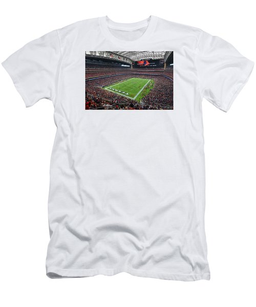 Nrg Stadium - Houston Texans  Men's T-Shirt (Athletic Fit)