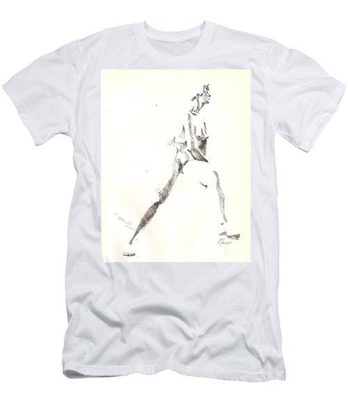 Nude 6 Men's T-Shirt (Athletic Fit)