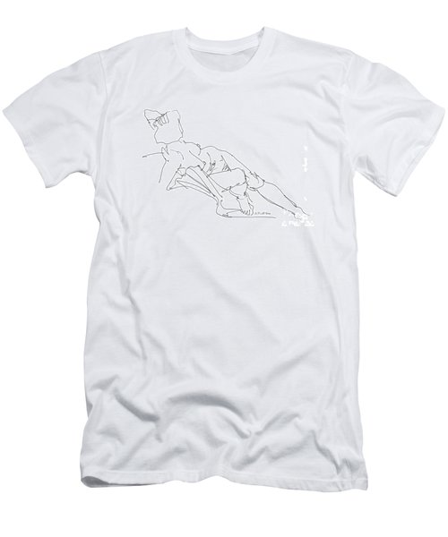 Nude Female Drawings 3 Men's T-Shirt (Athletic Fit)