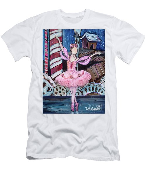 Nutcracker Sugar Plum Fairy Men's T-Shirt (Athletic Fit)