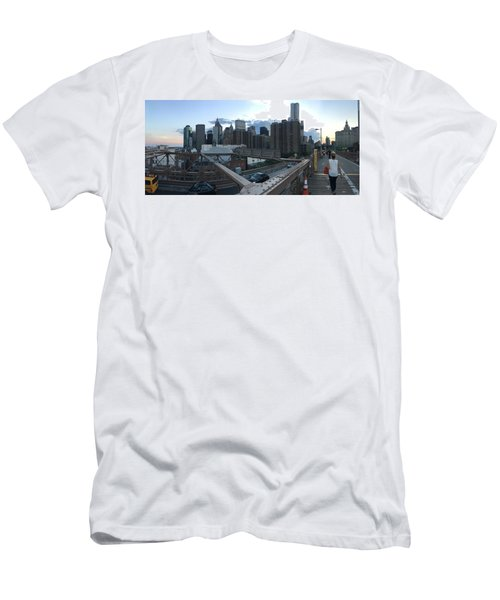 NYC Men's T-Shirt (Slim Fit) by Ashley Torres