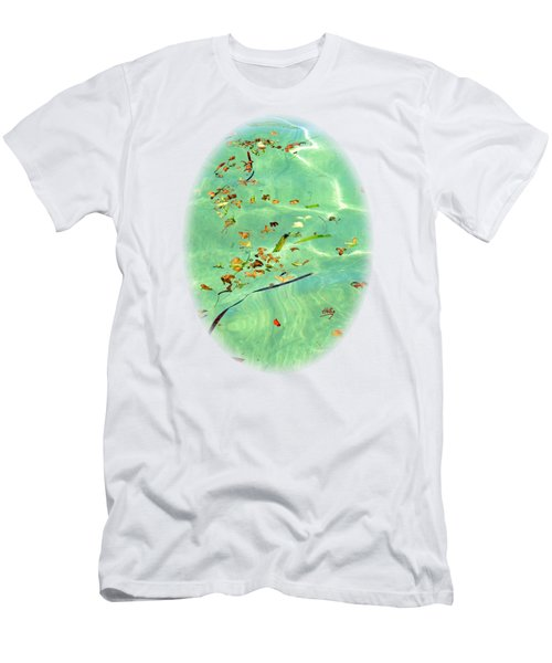 Ocean Flowers Men's T-Shirt (Athletic Fit)
