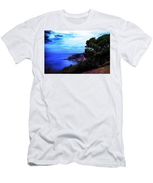 Men's T-Shirt (Slim Fit) featuring the photograph Ocean Hill by Joseph Hollingsworth