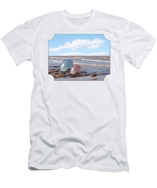 Ocean Love Affair - Nautilus Shells Men's T-Shirt (Athletic Fit)