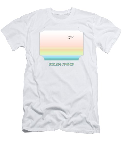 Endless Summer Men's T-Shirt (Slim Fit) by Gill Billington