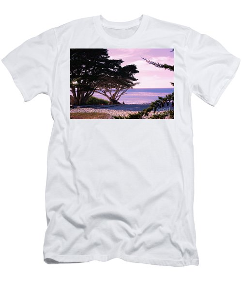 Ocean Views From Carmel Beach  Men's T-Shirt (Athletic Fit)