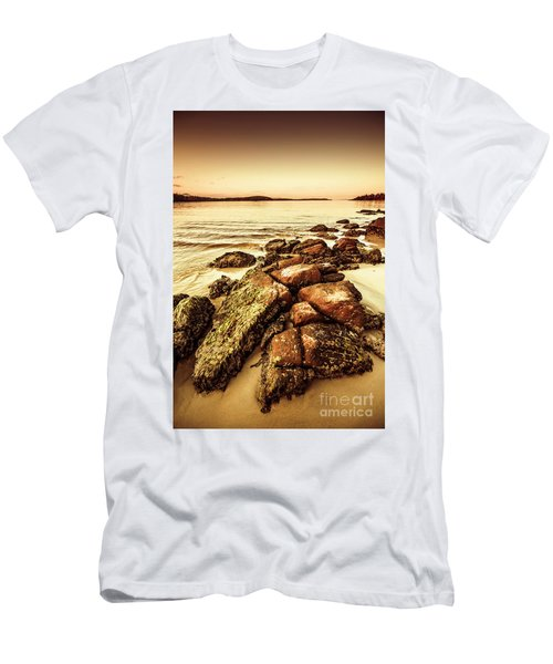 Oceanic Harmony Men's T-Shirt (Athletic Fit)