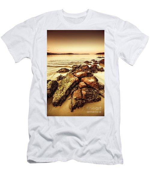 Oceanic Harmony Men's T-Shirt (Athletic Fit)
