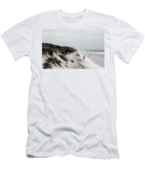 Oceanside Men's T-Shirt (Slim Fit) by Amar Sheow