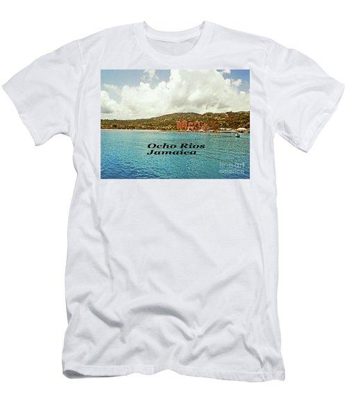 Men's T-Shirt (Slim Fit) featuring the photograph Ocho Rios Jamaica by Gary Wonning